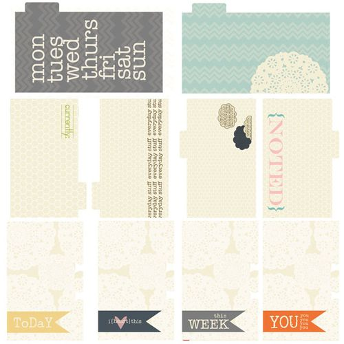Persnickety Journal Cards
