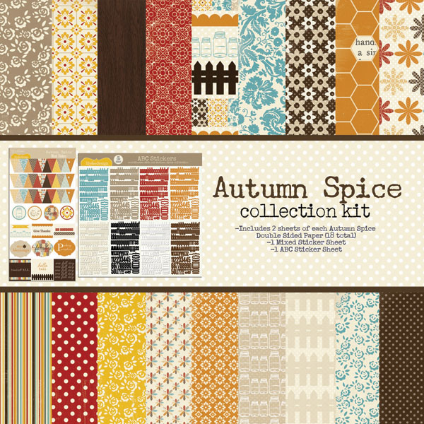 Autumn Spice Collection Kit