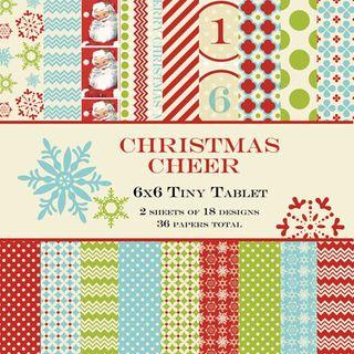 Christmas Cheer 6x6 Tablet