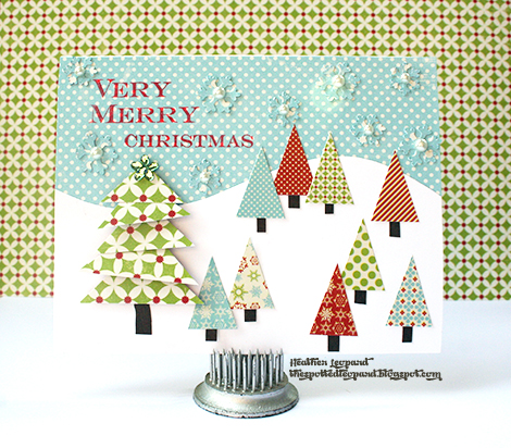 470 Very Merry Christmas Card wm