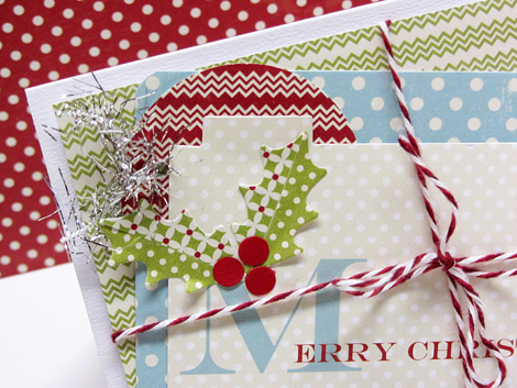 Merry christmas card - detai 470pxl
