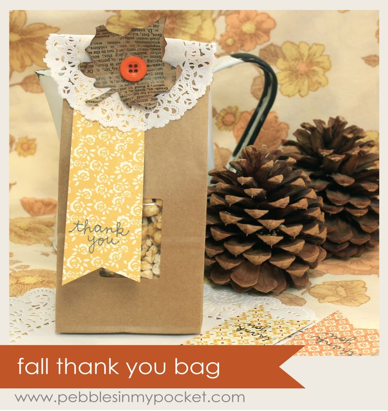 Fall thank you bag