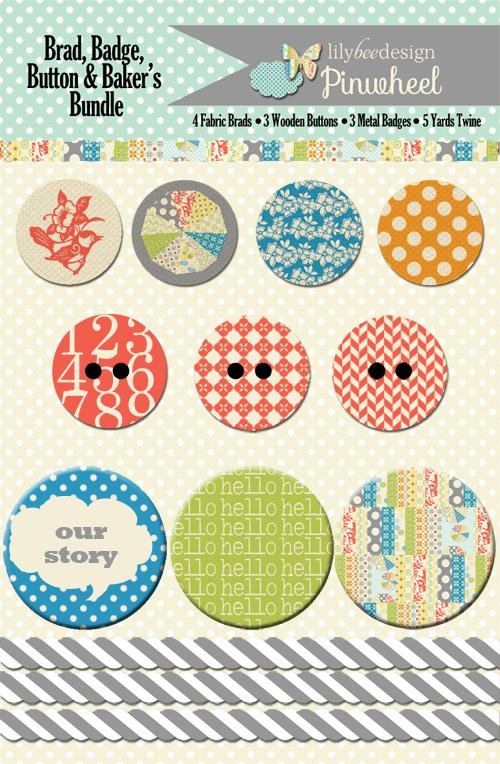 Pinwheeel Embellishment Bundle