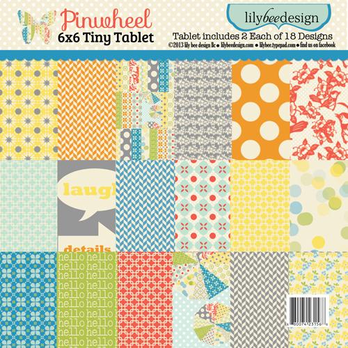 Pinwheel 6x6 Tiny Tablet