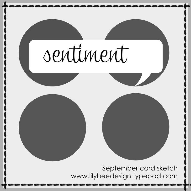 Lilybee card sketch september 2013