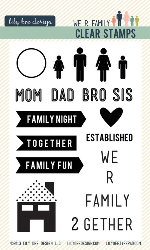 We R Family Clear Stamps 500