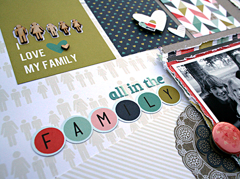 All in the Family Title by Heather Leopard